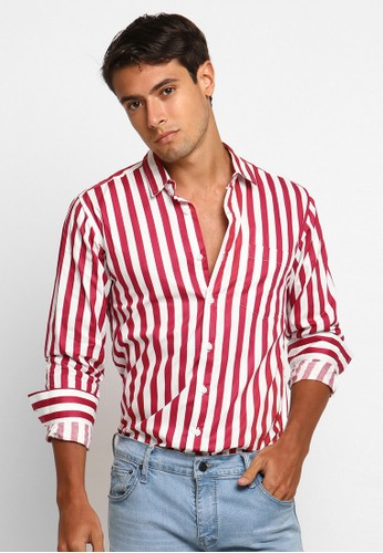 VENGOZ red Dixie LS Shirt 2B01BAAE623EE5GS_1