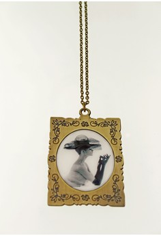 WLN020 Women's Necklace with Photo Pendant