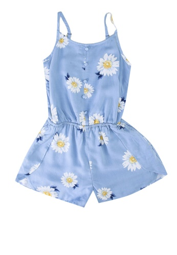 Abercrombie & Fitch blue Tulip Romper 685ACKAB0C7226GS_1