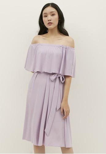 Bridesy pink and purple and n/a 5 Ways Midi Summer Dress Lilac C32C9AA1CFA426GS_1