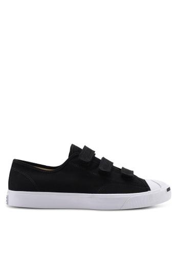 2e177314 Converse black Jack Purcell 3V Ox Sneakers 84308SHC5B8C58GS_1