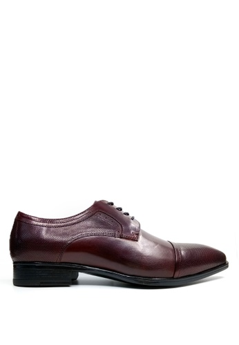 Kenneth Cole New York red OLIVER LACE UP - Oxford Lace-Up 65B24SH097BA50GS_1