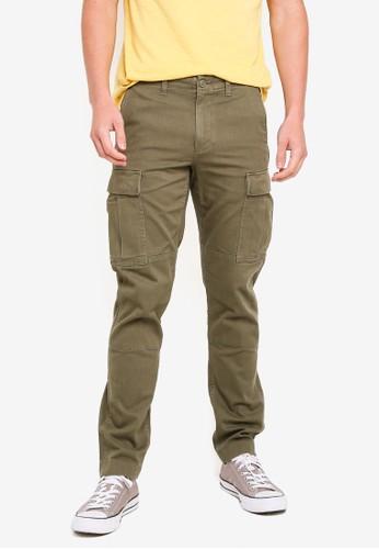 J.Crew green 770 Garment Dye Cargo Pants 230CCAA6C73EBDGS_1