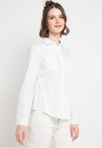 X8 white and multi Jaslene Shirts D88DFAAED10B6AGS_1