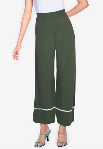 ZALORA BASICS multi Knitted Long Pants F9EF1AAD98A6E7GS_1