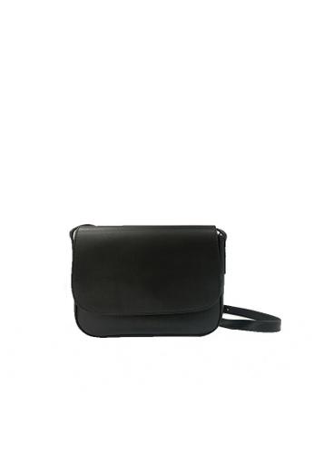 GreyPlus black Aulia Sling Bag 1517BAC71FA31BGS_1