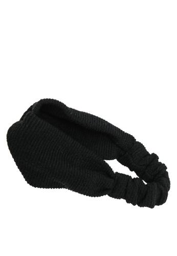 GLOBAL WORK black Casual Headband 22254KC4FDD303GS_1