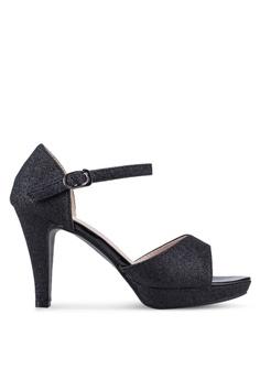 6313e2cd784 Spiffy black Open Toe Heels 7BDC4SH905C0DFGS 1