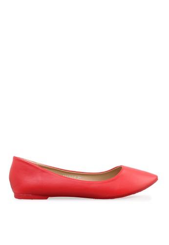 Minarno red Women Red Everyday Flats MI641SH34TTHID_1