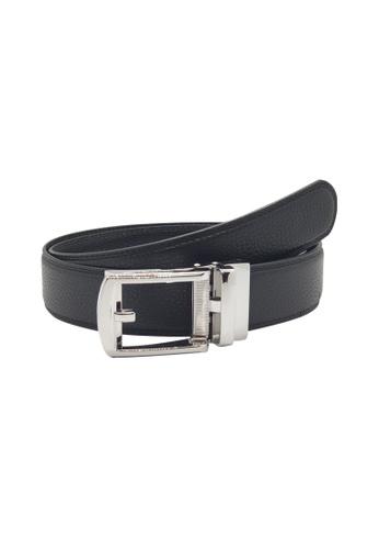 Oxhide black Formal Belt Black - Real Leather Black Ratchet Belt with Auto Lock Buckle -  ABB2D Oxhide 93240ACB3DC9D7GS_1