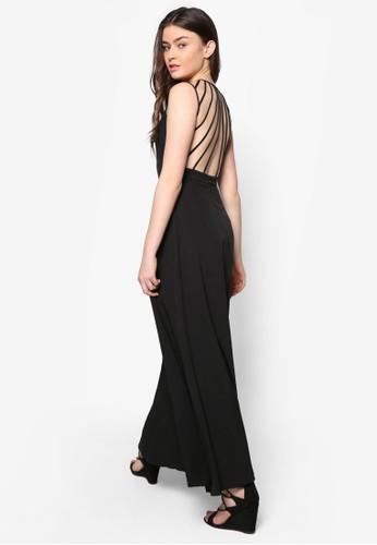 Lovzalora 心得e 多帶露背長洋裝, 服飾, 洋裝
