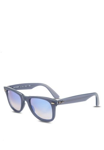 Ray-Ban blue Wayfarer Ease RB4340 Sunglasses RA896GL66GSNMY_1