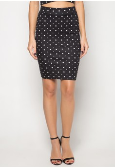 Edelyn Midi Pencil Skirt