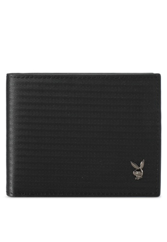 Playboy black Playboy Bi-Fold Wallet PL371AC0SK18MY_1