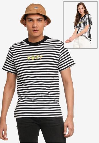 OBEY black Buddy T-Shirt 3AD9EAA7778717GS_1