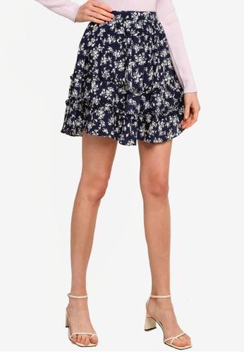 Sável navy Santiago Mini Skirt 5A785AA8AC0787GS_1