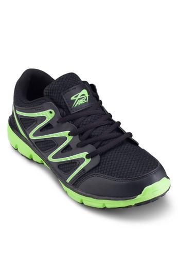 撞色男性跑步運動鞋, 鞋, Stabiesprit hklity