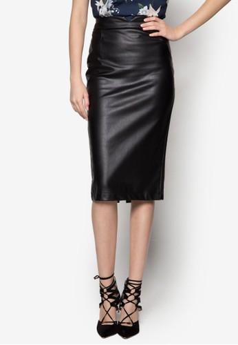 Pzalora開箱U 鉛筆裙, 服飾, 及膝裙
