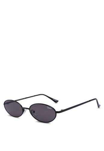 Quay Australia black Clout Sunglasses D8243GLFFD24DAGS_1