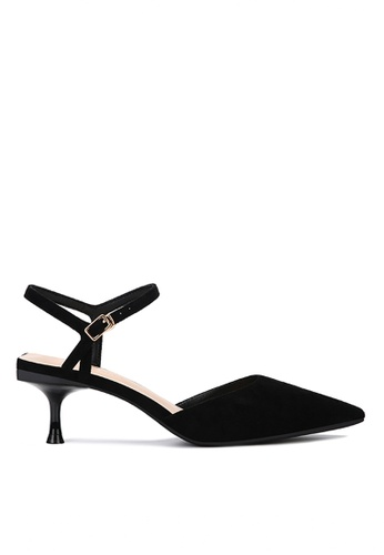 Twenty Eight Shoes black Slingback Heel 198-30 753C6SH537FED8GS_1