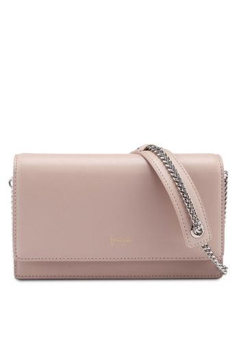 Bata pink Faux Leather Sling Bag 43875ACA45F88EGS 1 b9d38aae76b5d
