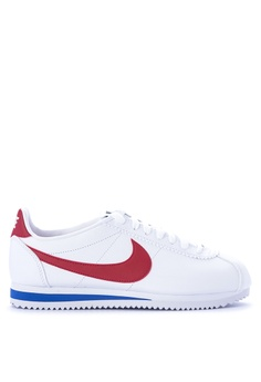866da2dc18fb9f Nike white Nike Classic Cortez Leather Shoes EAAFCSHCBAA422GS 1