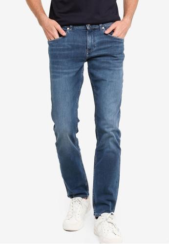 Tommy Hilfiger 藍色 修身Bleecker 牛仔褲 94A21AA0E7F288GS_1