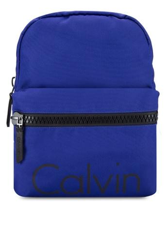 Calvin Klein blue Campus Backpack - Calvin Klein Accessories CA221AC19DSMMY_1