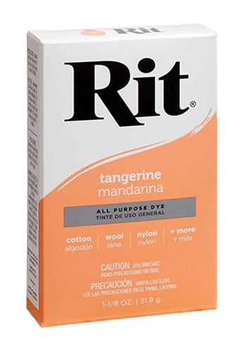 Rit Dye orange Rit Tangerine All Purpose Dye F8334HL68F666AGS_1