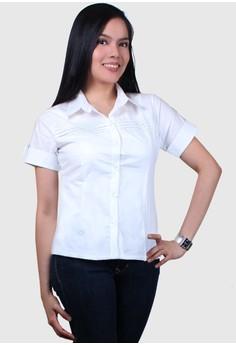 Minerva Fashionable Ladies Work Shirts/Formal Shirt