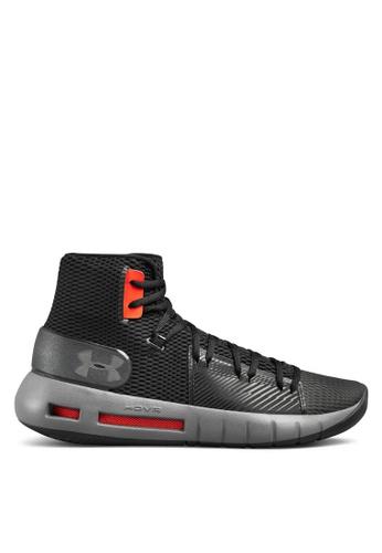 Under Armour black UA Drive 5 Basketball Shoes E2A4BSH6EB7ED1GS_1