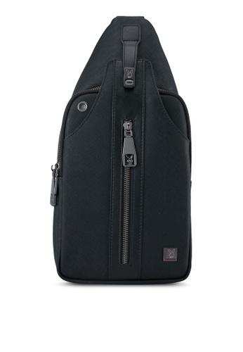 Playboy black Playboy Chest Bag PL371AC0SK1VMY_1