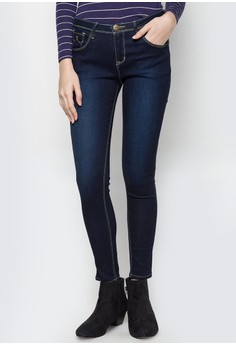 Modified Fashion Denim Stretch Pants