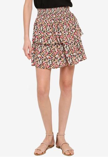 Mink Pink multi Good Girls Mini Skirt 069F1AA598B3A2GS_1