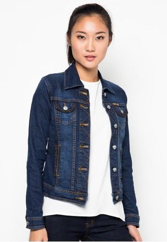 Denim Jacket With Spread Jacket