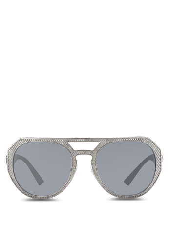 Versace grey Studs Med VE2175 Sunglasses VE417GL32TBFMY_1