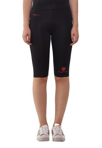 Jual Tiento Tiento Women Compression Half Pants Black Red Celana Legging Leging Selutut Wanita Olahraga Original Original Zalora Indonesia