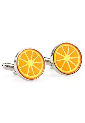 The Little Link Cufflinks orange Orange Squeeze cufflinks TH089AC0GM1ZSG_1