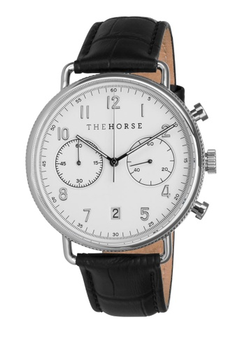 The Horse black and white and silver The Time Writer Chronograph Watch DC5B5AC51494C5GS_1