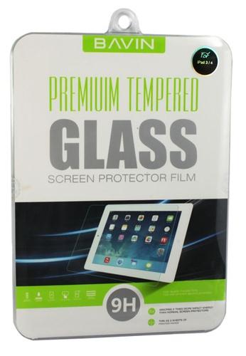 BAVIN white Bavin Tempered Glass Screen Protector for iPad 3/4 E1DBDAC3666559GS_1