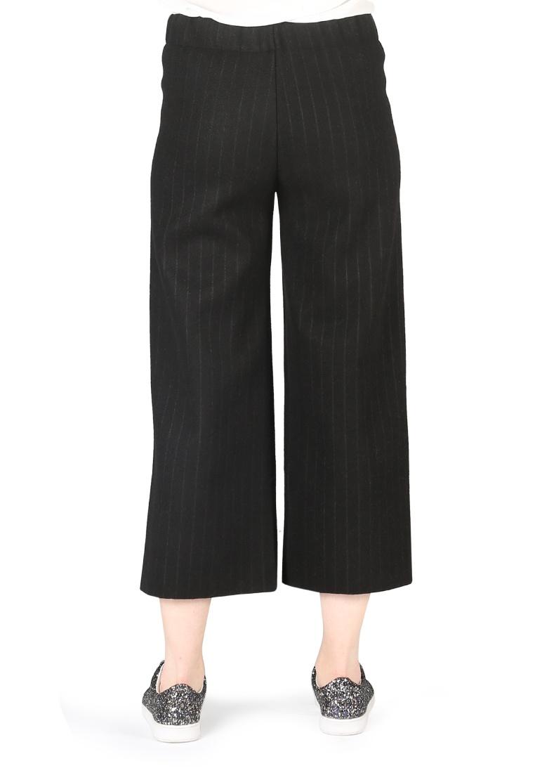 Rag London Black Pants London Black Loose CLG103 BLK Women Rag striped rrqgdRwIU