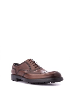 0f9694146 50% OFF Moreschi Men s Casual Dress Shoes Full Brogue Wingtip Php 24
