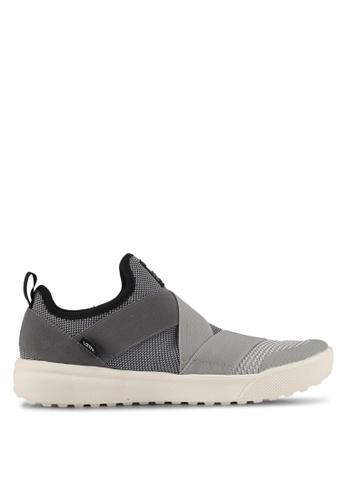 VANS grey UltraRange Gore Concrete Sneakers VA142SH0SWS5MY_1