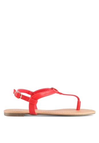 Rubi red Everyday Aubrey Metal Toe Post Sandals D17EDSH0158E2BGS_1