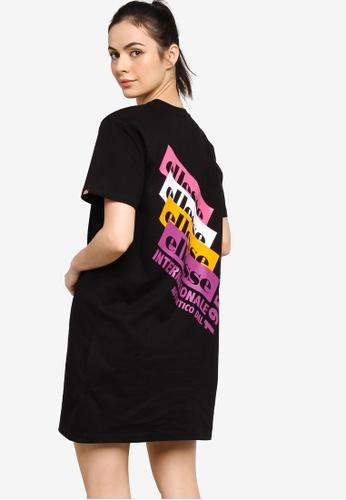 Ellesse black Chiama Dress 9CBE2AA86D3AE5GS_1