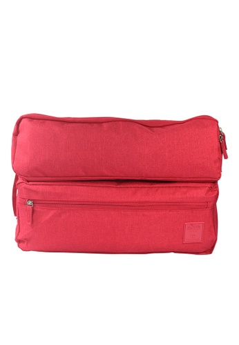 Travel Manila pink Laptop Organizer Bag 15 TR905AC22KVDPH_1