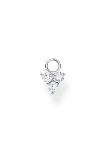 THOMAS SABO silver Ear Pendant White Stone (Single) Silver 906A6AC231139BGS_1