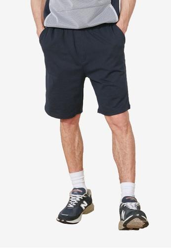 Trendyol navy Regular Fit Shorts C34E8AAF21398BGS_1