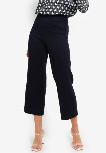 ESPRIT navy Woven Length Service Pants D0181AA23B486DGS_1