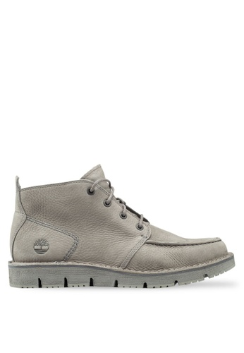 Timberland grey Westmore Moc Toe Chukka Boots 9BBDDSH5E850C7GS_1